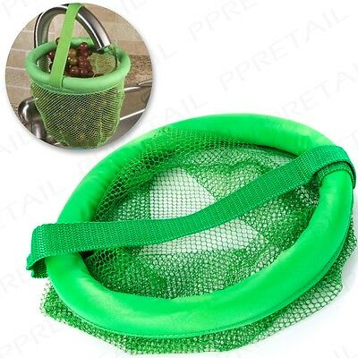LARGE SINK VEGETABLE/FRUIT 200mm FLOATING NET STRAINER Wide Veg Cleaner Washer