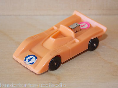 Wiking-Rennwagen   D  1977-82    Mc Laren in orange  2 Aufkleber Nr.4