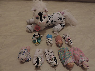 Vintage Pony surprise lot of 8 babies (kitty, puppy, pony) and 1 mom (1992)