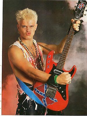 Billy Idol            Mini Poster / Picture (MJ21)