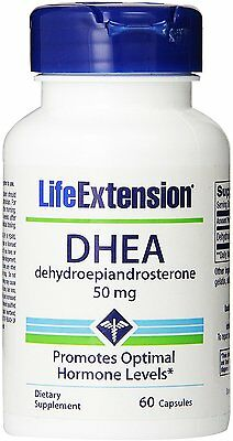 DHEA, Life Extension, 60 capsule 50 mg