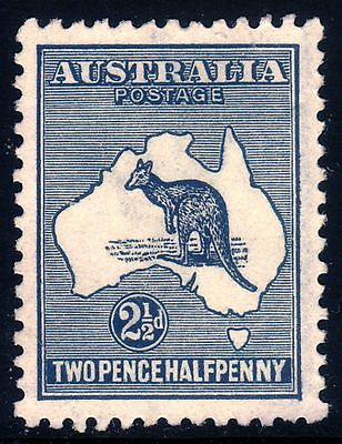 Kangaroo 1917 2½d 100% Centred! 100% perfs!  Great colour. Mint NG • FREE POST
