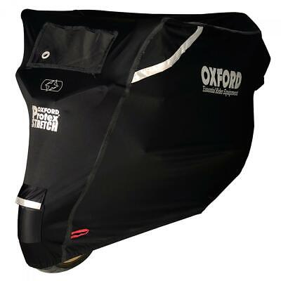 Oxford Protex Stretch Premium Stretch Fit Outdoor Motorcycle Cover - Large