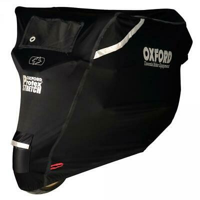 Oxford Protex Stretch Premium Stretch Fit Outdoor Motorcycle Cover - X-Large