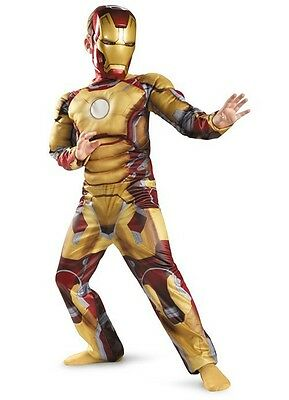 Costume Iron man Avengers deluxe with muscle