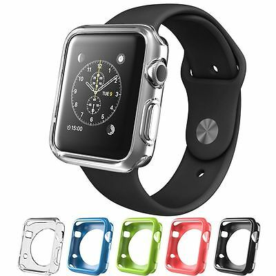 Apple Watch Case, i-Blason TPU Cases [5 Color Combination Pack] 38 mm