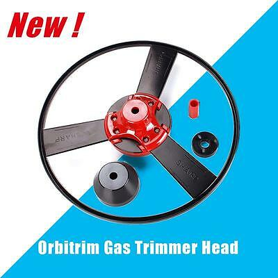 New Garden Lawn Orbitrim Gas Patio Trimmer Head Tools No String As Seen On TV
