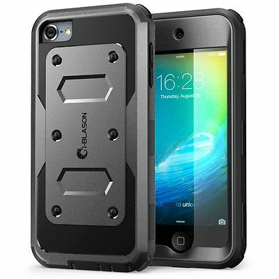 Apple iPod Touch 5th / 6th Generation Case i-Blason [Armorbox] Screen Protector