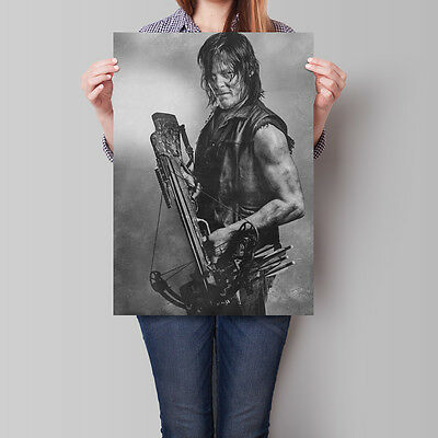 The Walking Dead Poster TV Show Norman Reedus as Daryl Dixon A2 A3 A4
