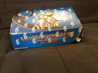 Mtg Magic Boosters Box Sealed/scellee Modern Masters 2015 Edition