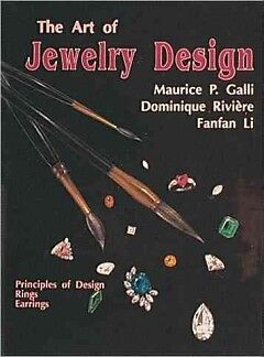 The Art of Jewelry Design - NEW - 9780887405624 by Galli, Maurice P./ Giambelli,
