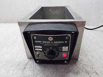 Cse Chicago Surgical & Electrical 13000 Water Bath 120 Volt (Used)