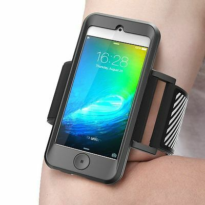 SUPCASE Apple iPod Touch 6 / 5 Generation Sport Running Armband / Case (Black)