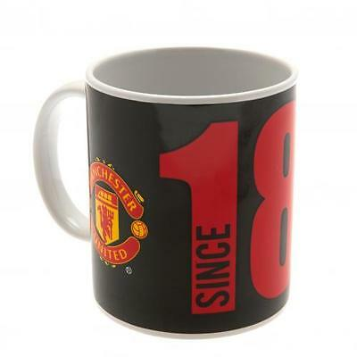 Official Licensed Football Product Manchester United Mug Since Cup Coffee New