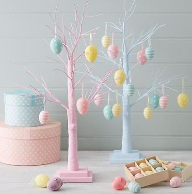 Gisela Graham Easter Pastel New Pink Twig Display Tree Home Gift Decoration 66cm