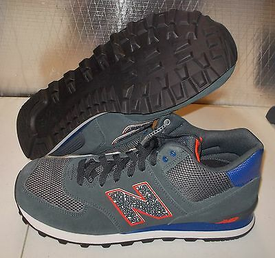 pretty nice f4230 9d42c NEW BALANCE 574 OUTSIDE IN Limited MENS 7 2E Wide Width Classic retro NR