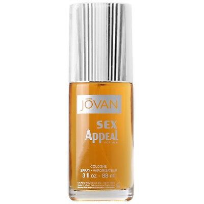 NEW Jovan Jovan Sex Appeal Eau de Cologne Spray 88ml Fragrance FREE P&P