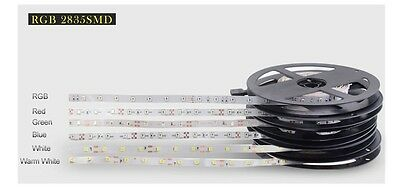 Tira Led SMD 2835, 3528, 3014 RGB, Green, Red, Azul, Blanco 300 LEDs/5 M