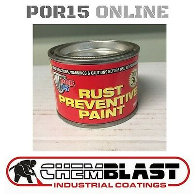 Por 15 Rust Prevention Paint 100ml BLACK