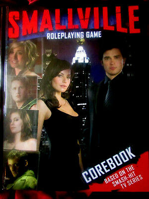 SMALLVILLE ROLEPLAYING GAME - COREBOOK. Very Scarce RPG Cortex DC Superman