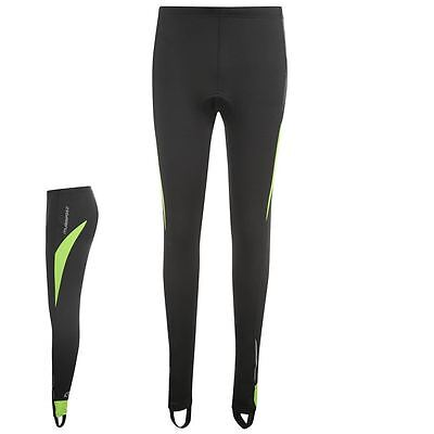 Muddyfox Mens Black/Green Padded Cycling Tights - BNWT - Large