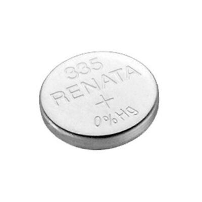 Multipurpose Swiss Renata 335 Silver Oxide 1.55V coin cells watch battery - New