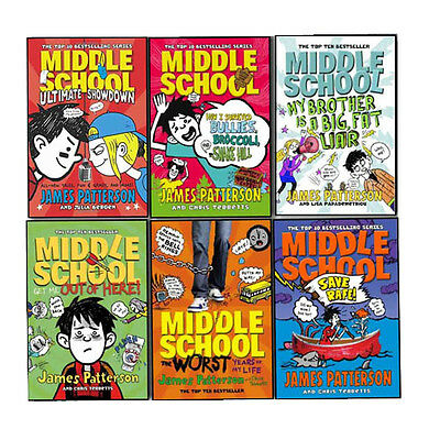 James Patterson Middle School 6 Books Collection Pack Set- Save Rafe, Ultimate