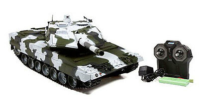 "Carro armato Hobby Engine LEOPARD 2A6 WINTER EDITION ""PREMIUM"" 2.4GHz RTR RC"