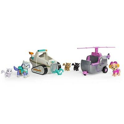 Paw Patrol Adventure Bay Animal Rescue Skye and Everest Playset