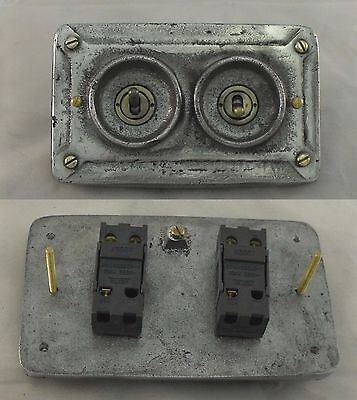 New vintage industrial switch BSEN approved RETROFIT to pattress box