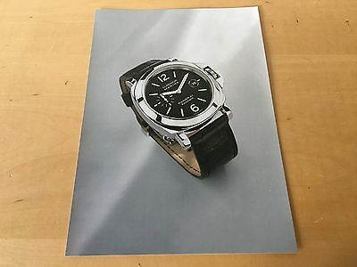 Press Kit - PANERAI Luminor Marina Automatic SIHH 2002 The watch is NOT INCLUDED