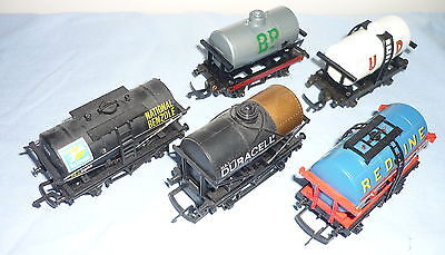 Hornby Oo Gauge 5 Small Tank Wagons