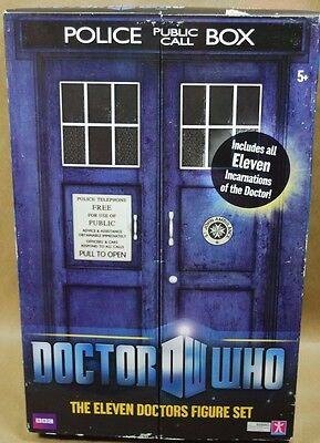 11 Incarnations BBC Doctor Who 11 Doctors Action Figure Collector Fan Set