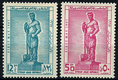 Syria 1967 SG#940-1 Labour Day MNH Set #D33859