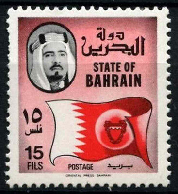 Bahrain 1976-1988 SG#226, 15f Definitive, National Flag MNH #D33766
