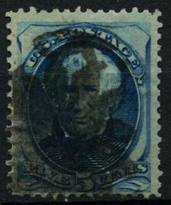 USA 1875 SG#181a, 5c General Zachary Taylor Used #D33939