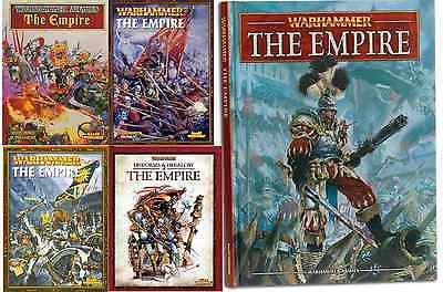 The Empire Army Books,  Warhammer Fantasy Battles, various select