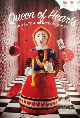 Alan Dart Knitting Pattern for The Queen Of Hearts