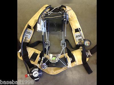 """Scott 4500psi INDUSTRIAL Air Pack SCBA Harness 4.5 Air Pak """"Very Nice Condition"""""""