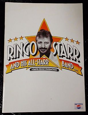 Ringo Starr And His All-Starr Band 1990 Tour Program