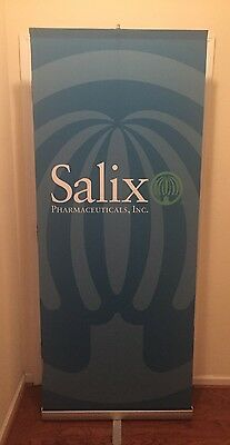 Skyline Trade Show Exhibit Banner Retractable W/ Carry Storage Case 3000R 3000-R