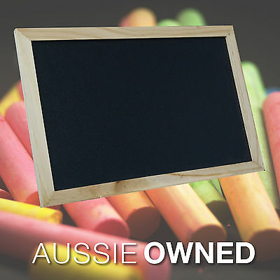 BLACKBOARD CHALKBOARD  - Small 20x30cm - Chalk Sign | Event Decor Wholesale