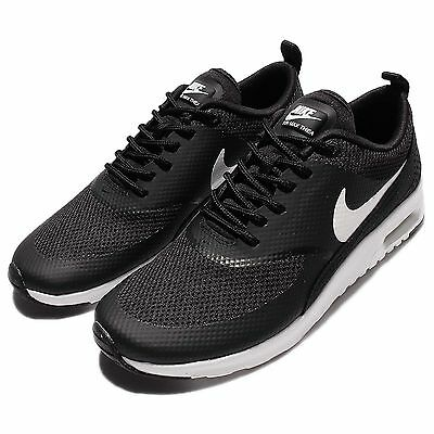 Wmns Nike Air Max Thea Black White Womens Running Shoes Sneakers NSW 599409-020
