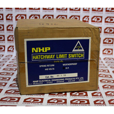NHP 77.1.10 HATCHWAY LIMIT SWITCH - New Surplus Open