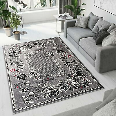 NEW BEAUTIFUL MODERN RUG TOP DESIGN LIVING ROOM! Different Sizes GREY