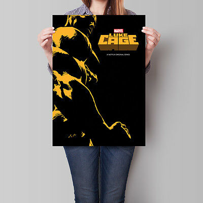 Luke Cage Poster 2016 TV Series Marvel Mike Colter A2 A3 A4