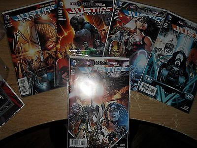 Justice League of America 40-44 complete storyline The Darkseid War 1st Grail