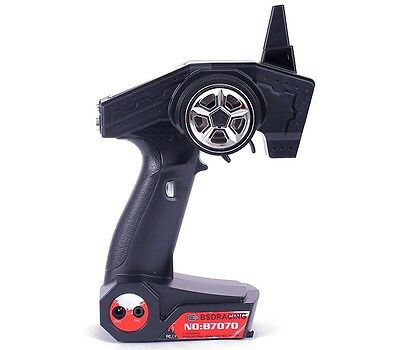 Radiocomando RADIO GUN 2CH 2,4 GHz BSD Racing RC