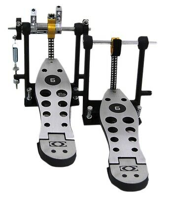 Basix Drum Craft DPD-6 Series Double Bass Drum Pedal O18E1-TB244