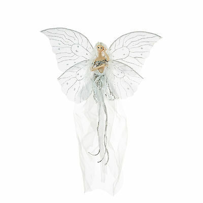 Fairy Gentle Moonglow Flying Figure Christmas Decoration 38cm/15 Inches